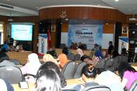 Suasana Kuliah Umum bersama MNCTV di Fikom Unpad. (Foto : Suwito)
