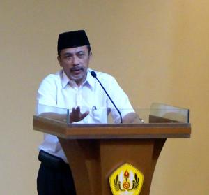 Prof.Deddy Mulyana, Dekan Fikom Unpad.