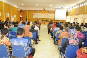 Sekitar 200 aparat Kab Sukabumi peserta pelatihan. (Foto Dok Prodi Humas)