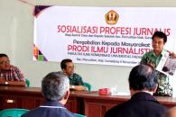 """Jangan Takut Sama Wartawan"", Prodi Jurnalistik Kerjasama dengan Empat Organisasi Profesi"