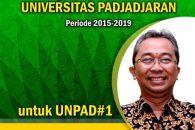 Prof.Dr.Engkus Kuswarno MS, Calon Rektor Unpad 2015-2019