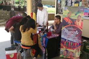 Panitia AbNon Jaktim, Buka pendaftaran di Kampus Fikom (Foto Ryan GH)