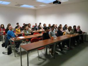 Peserta kuliah semester 5. (Foto Koleksi DS)