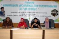 Seminar Informasi, Komunikasi, dan Perpustakaan di Era Global Fikom Unpad