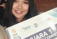 "Bunga Freesia S, Juara Lomba News Presenter di ""Emtek Goes to Campus Bandung 2016"""
